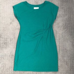 Saturday Sunday (Anthro) Emerald Green Mini Dress